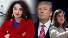 Can an Afro-Latina combat veteran make a run at Congress in 'Trump district' Staten Island?