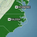 Heavy, gusty storms to rumble along Atlantic coast of US