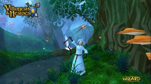 A Mystical Land changes name to Villagers & Heroes, adds content
