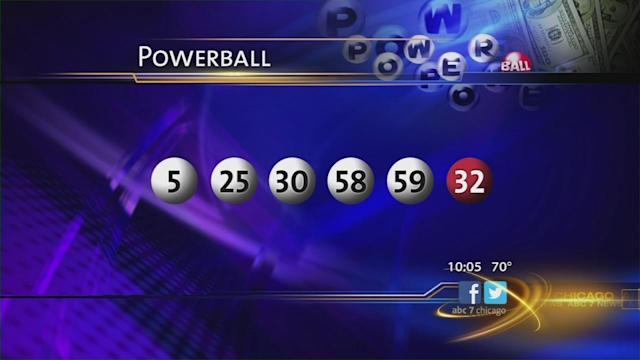 Powerball numbers 58, 5, 25, 59, 30, PB 32 lucky for 3; Winners in Minnesota, NJ to split $448 million jackpot
