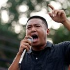 Free on bail, prominent Thai protest leader pledges to keep up campaign