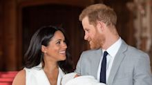 Prince Harry and Meghan Markle release new photo of baby Archie to mark the Duke's first Father's Day
