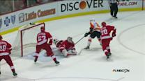 Sean Couturier sets up Matt Read for a goal