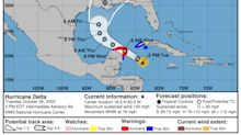 Hurricane Delta expected to hit Yucatan as 'extremely dangerous' Cat 4 this week
