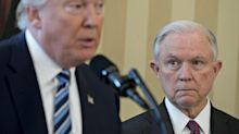 Sessions resigns to Trump 'at your request'