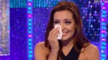 Amy Dowden cries on 'It Takes Two' as Danny John-Jules is a no show