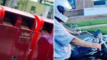 Australia Post worker slammed for behaviour on motorbike