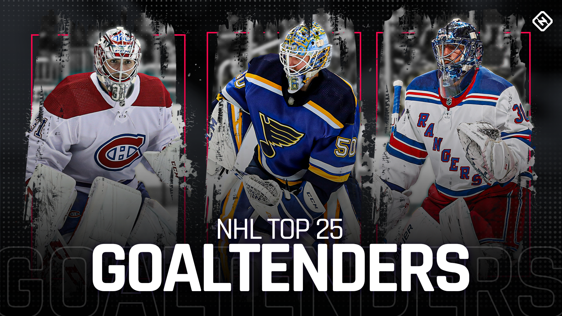 Ranking the top 25 NHL goaltenders in 2019-20