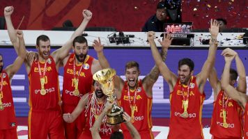 Spain thumps Argentina for World Cup gold