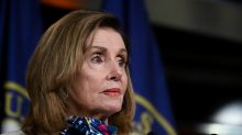Pelosi says airline aid deal is near, asks for halt to job cuts