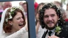 Kit Harrington and Rose Leslie get married