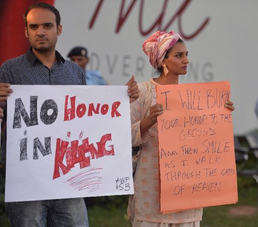 Pakistan police investigate 'honour' killing of British woman