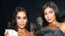 Kim Kardashian just copied Kylie's hair to launch her new make-up collection
