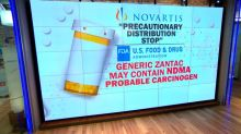 Novartis has halted distribution of generic Zantac. Here's what you need to know.