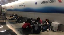 HS students, 'broke' after selling hoodies to go on trip, spend night on airport floor after flight is cancelled