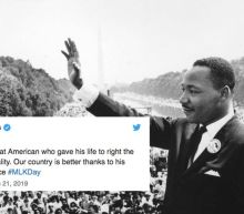 White House tweets about Martin Luther King Jr. aren't going over well