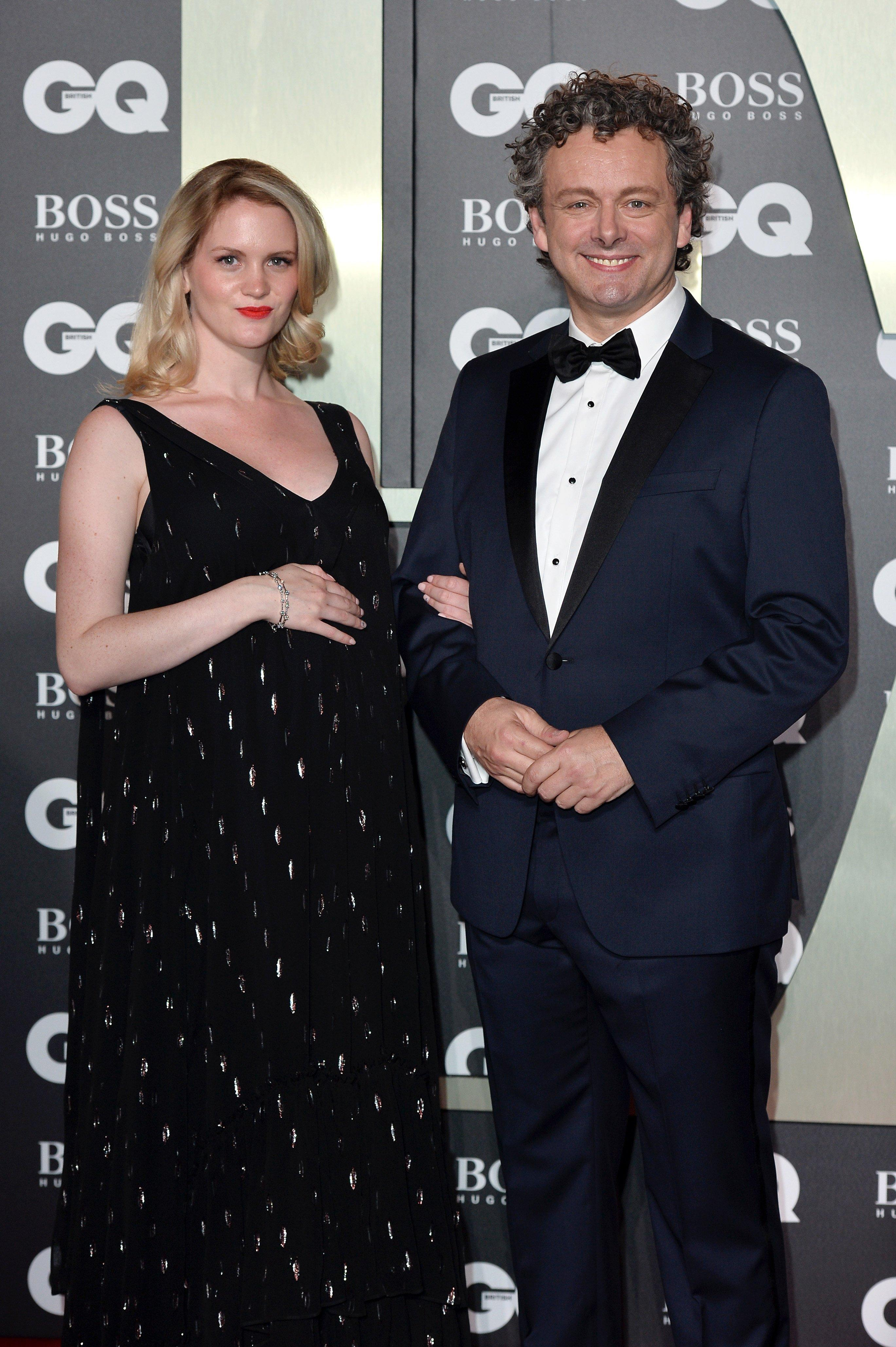 Michael Sheen and Girlfriend Anna Lundberg Welcome First