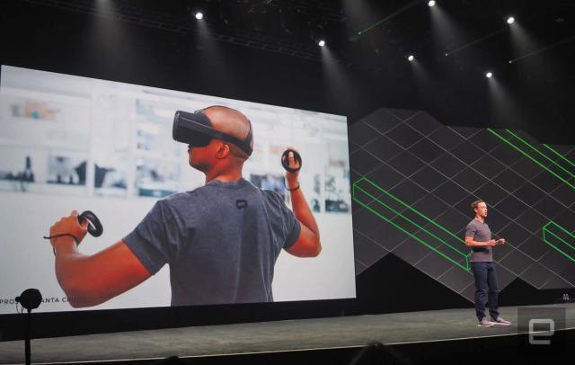 Oculus Santa Cruz offers standalone VR with full motion control