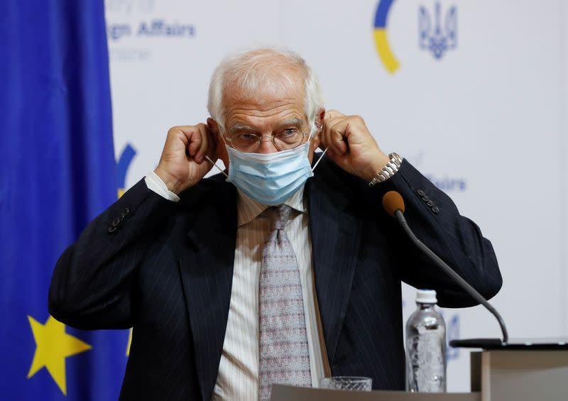 EU funds to Ukraine hinge on constructive work with IMF: Borrell