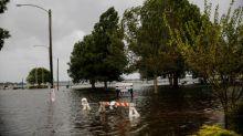Hurricane Florence lashing Carolinas with heavy rain, flooding