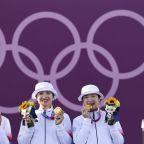 """Olympics-Archery-World Archery's tweet in """"chop suey"""" font receives backlash"""