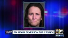 Mother arrested for abandoning son in McDonald's to gamble: 'He drives me crazy'