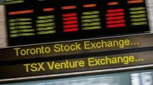 TSX seesaws as financials gain, energy retreats