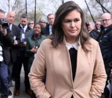 Sarah Sanders reiterates Comey claims despite admitting to lying