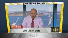 Cramer's lightning round: Bill Ackman shouldn't stop you ...
