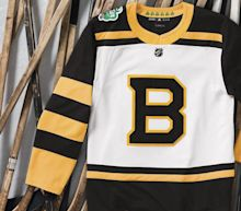 87d2e3aaa9a Bruins show off vintage jersey for 2019 Winter Classic