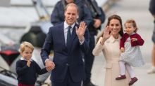 The Duke and Duchess of Cambridge are on the move