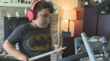 Meet the six-year-old drummer proving you're never too young to rock out