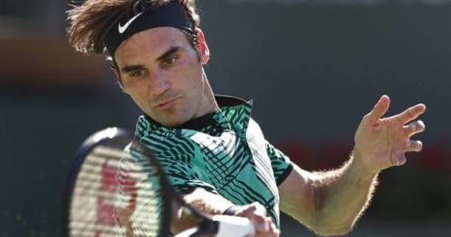 Tennis - ATP - Miami - Miami : les plus beaux points du duel entre Roger Federer et Nick Kyrgios