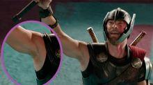 Las axilas depiladas de Thor desatan una nueva controversia