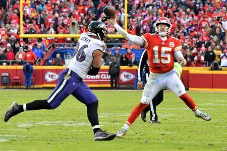 Chiefs beat Ravens in OT to clinch playoff berth e5c78a343
