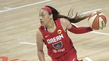 Chennedy Carter drops 35 in loss to Storm, becomes youngest player in WNBA with 30+ points in a game