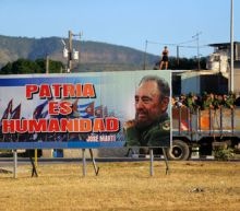 Fidel Castro interred in rock, closing last chapter of historic life
