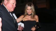 Jennifer Aniston makes rare appearance post-break up