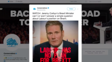 Conservatives accused of doctoring clip of Keir Starmer interview