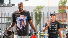 Lamar Odom gets engaged to girlfriend Sabrina Parr after three months of dating