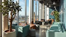 The world's biggest co-living space offers a hangover drip, 'sky pool'