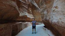 走進約旦佩特拉  讓人畢生難忘的粉紅岩壁、夜探古城