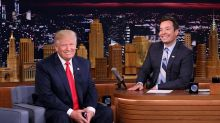 President Trump calls out Jimmy Fallon in oddly timed tweet