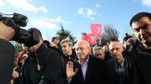 Turkish police arrest ruling party member, eight others after opposition chief attack