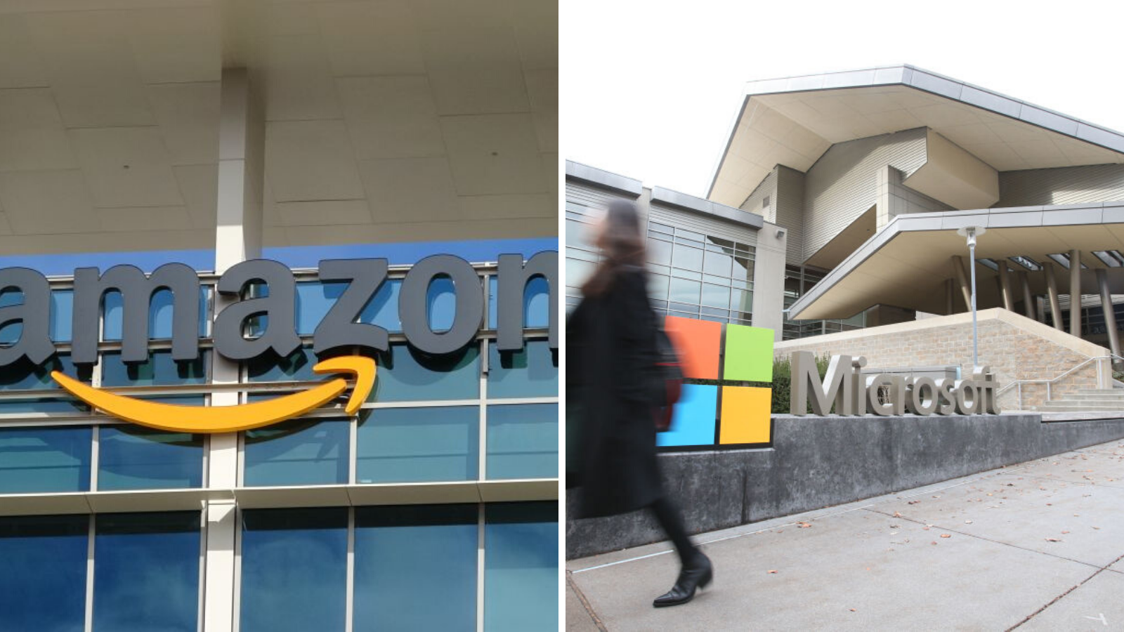 How much do people at Microsoft and Amazon get paid?
