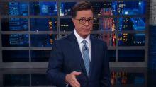Stephen Colbert thanks Trump for 'presidential' response to Barcelona attack