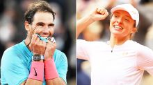 French Open champions set unprecedented grand slam record