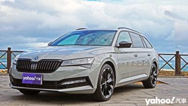 微調過招更犀利!2021 Škoda小改款Superb Combi SportPlus 4×4國境之南試駕