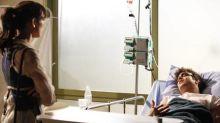 Patrícia se declara a Antenor no hospital, em 'Fina estampa': 'Eu nunca deixei de te amar'