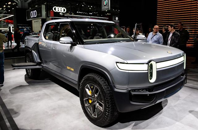 Rivian says its electric vehicles will cost less than first announced